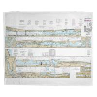 FL: Palm Shores to West Palm Beach, FL Nautical Chart Blanket
