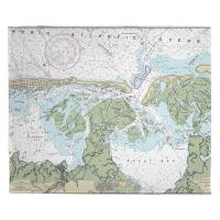 NJ: Little Egg Inlet, Great Bay, Little Egg Harbor, NJ Nautical Chart Blanket