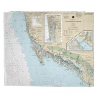 FL: Chatham River to Clam Pass, FL Nautical Chart Blanket