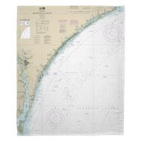 NC: New River Inlet to Cape Fear, NC Nautical Chart Blanket