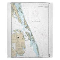 NC: Currituck Beach Light to Wimble Shoals, NC Nautical Chart Blanket