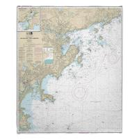 MA: Salem and Lynn Harbors, MA Nautical Chart Blanket
