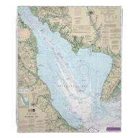 NJ-DE: Delaware Bay, NJ-DE Nautical Chart Blanket