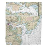 NH: Portsmouth Harbor, NH Nautical Chart Blanket