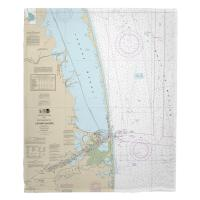 TX: Southern Part of Laguna Madre, TX Nautical Chart Blanket