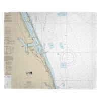 FL: Jensen Beach, Jupiter Island, FL Nautical Chart Blanket