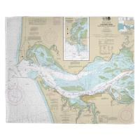 OR-WA: Columbia River; Pacific Ocean to Harrington Point, OR-WA Nautical Chart Blanket