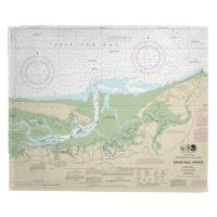 MA: Barnstable Harbor, MA Nautical Chart Blanket