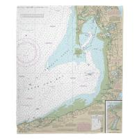 MA: Wellfleet Harbor, MA Nautical Chart Blanket