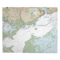 Lake Borgne and Approaches, MS-LA Nautical Chart Blanket