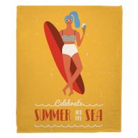 Surfer Girl - Val Blanket