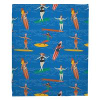 Surfer Girl - Surf Party Blanket