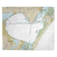 TX: Corpus Christi Bay, TX Nautical Chart Blanket