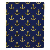 Duck Key - Anchors Blanket