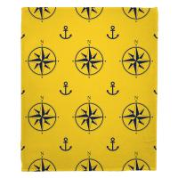 Duck Key - Compass Rose Blanket