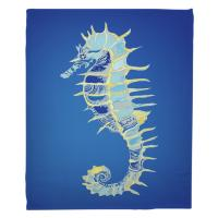 Majestic Seahorse Blanket