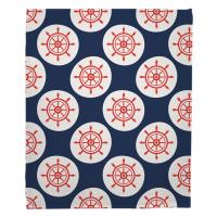 Captains Key - Ships Wheel Blanket