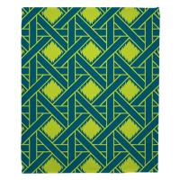 Key Largo - Passport Turquoise & Lime Blanket