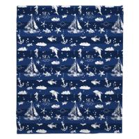 Blue Sea Mix Blanket