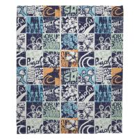 Surfing Patchwork Blanket