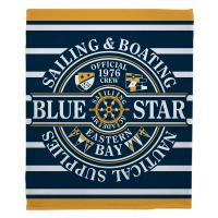 Blue Star Sailing Blanket