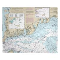 MA: Falmouth, MA Nautical Chart Blanket