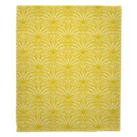 Art Deco Goldenrod Blanket
