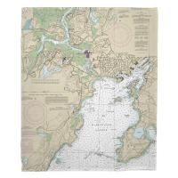 MA: Gloucester Harbor, MA Nautical Chart Blanket