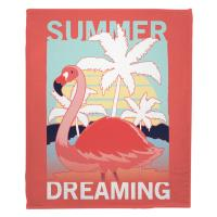 Summer Dreaming Flamingo Blanket