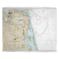 VA-NC: Cape Henry, VA to Currituck Beach Light, NC Nautical Chart Blanket