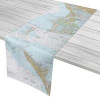 FL: Treasure Island to Anna Maria Island, FL Nautical Chart Table Runner