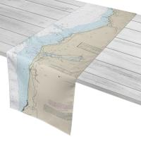 OR: Cape Sebastian to Humbug Mountain, OR  Nautical Chart Table Runner
