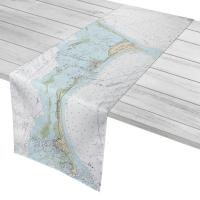 NC: Cape Hatteras, NC Nautical Chart Table Runner