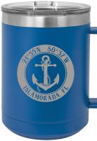 Custom Anchor 15oz Insulated Mug S/4