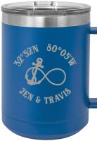 Custom Infinity Anchor 15oz Insulated Mug S/4