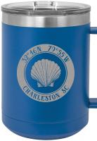 Custom Seashell 15oz Insulated Mug S/4