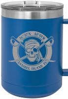 Custom Pirate 15oz Insulated Mug S/4