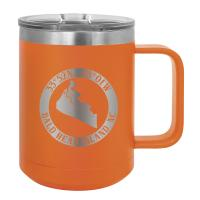 BHI Map Logo 15oz Insulated Mug