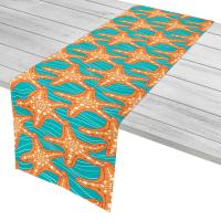 Starfish in Waves Table Runner