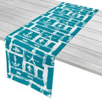 Ocean Squares Table Runner