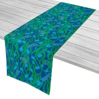 Green Seaweed Table Runner