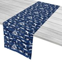 Blue Sea Mix Table Runner